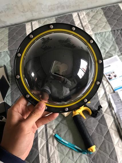Dome Para Gopro Hero 5 6 7 Black Telesin 6