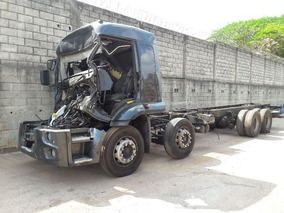 Ford Cargo 2429 8x2 Ano 2012/2013 Batido