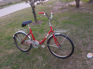 Bicicleta Plegable Tipo Aurorita. Marca Halcón Rodado 24