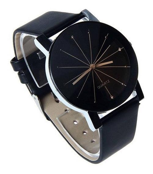 Relogio Luxo Masculino Casual Prisma Diamante Elegante Pulse
