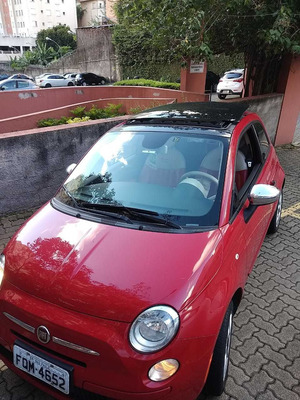 Fiat 500 Automatico 1.4 Flex Transferencia Gratis!