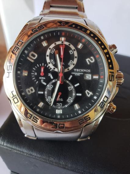 Relógio Technos Tec426 Original- Masculino - Muito Novo