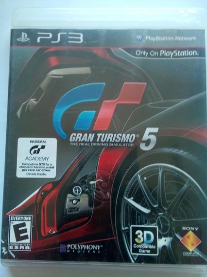 Gran Turismo 5 Ps3 Mídia Física