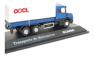 Camión Transporte De Mercancia Scania Escala 1/72