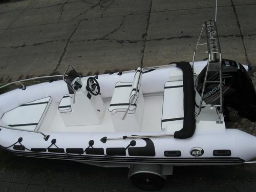 Semirrido Kiel 5,6 M Con Mercury  115 Hp 4 Tiempos Todo Okm