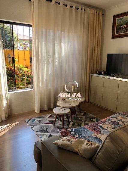 Casa Com 2 Dormitórios À Venda, 135 M² Por R$ 530.000,00 - Vila Pires - Santo André/sp - Ca0622