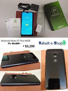 Motorola Moto G7 Plus Índigo 64 Gb Nuevo Telcel