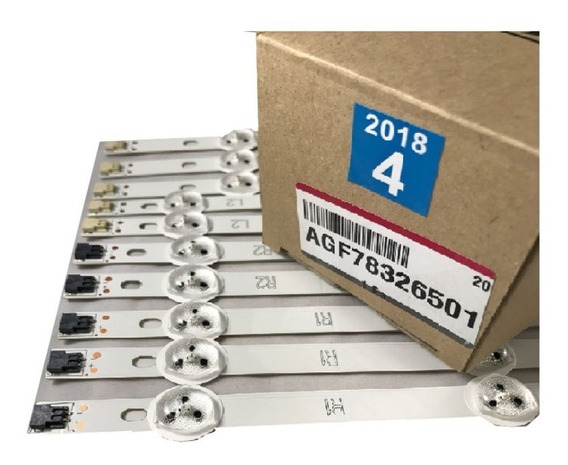 Kit Barras Led Lg 42ln5400 42ln5700 42la6200 42la6130 Nova
