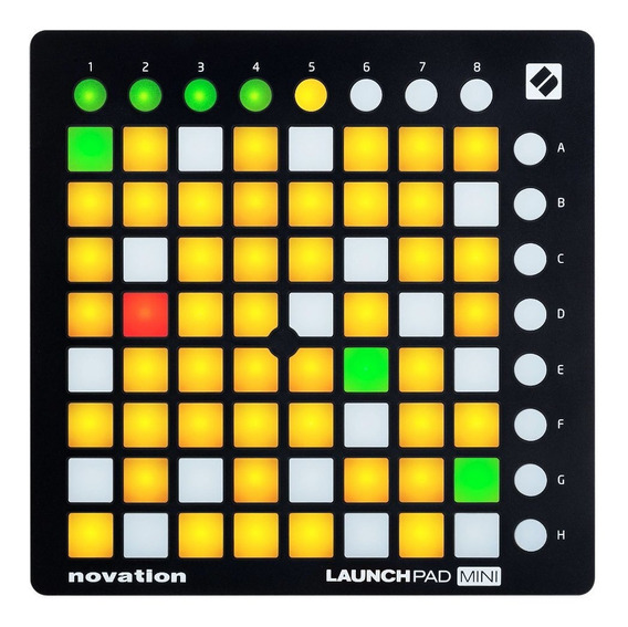 Novation Launchpad Mini Controlador Dj Usb Ableton . Loja !