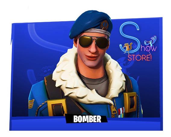 Fortnite - Bomber Skin