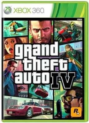 Grand Theft Auto Iv Gta 4 Xbox 360 Original Xone Frete R$12