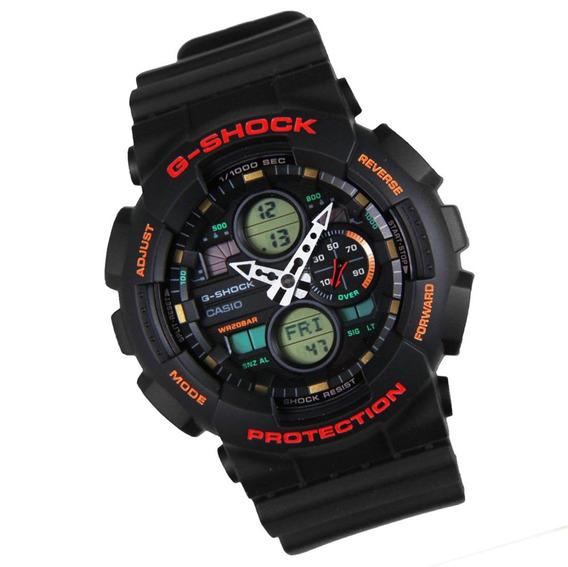 Relógio Casio G-shock Ga-140-1a4 Original Pronta Entrega