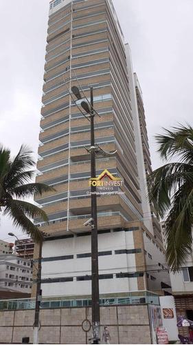 Apartamento Com 3 Dormitórios À Venda, 156 M² Por R$ 900.000,00 - Aviação - Praia Grande/sp - Ap1817