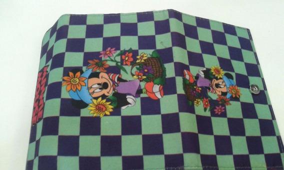 Kit 5 Capa Tablet 7 Polegadas Minie E Mickey Disney