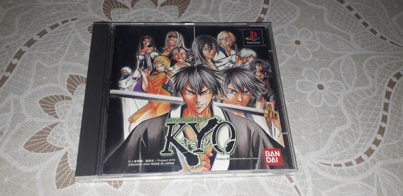 Samurai Deeper Kyo - Playstation 1 - Original Em Bom Estado