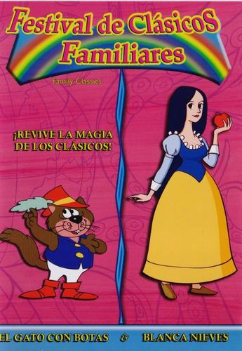 Imagen 1 de 3 de Clasicos El Gato Con Botas & Blanca Nieves Dvd