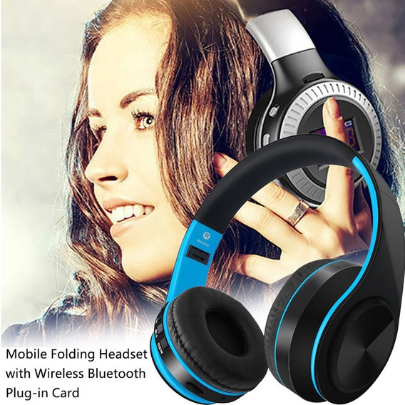 Fones De Ouvido Estéreo Sem Fio Bluetooth Fone De Ouvido Mi