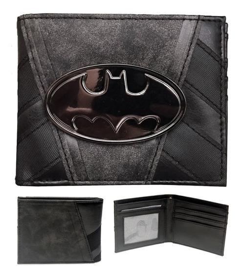 Batman Cartera Envio Gratis Piel Pu Dhl Dc Comics Billetera