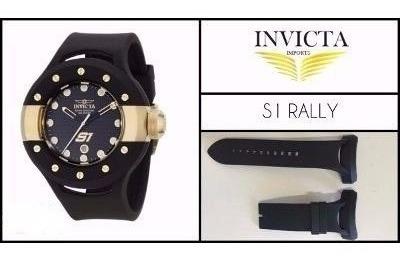 Pulseira Relógio Invicta S1 Rally 6483 6493 17386 Preta