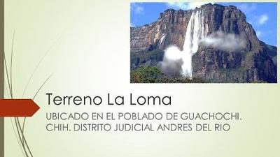 Terrenos En Venta En El Poblado De Guachochi, Chihuahua.