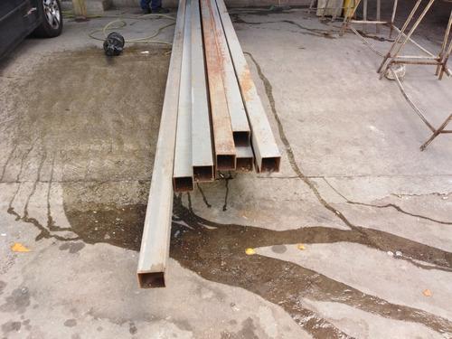 Tubo De 100x100 Estructural De 6metros