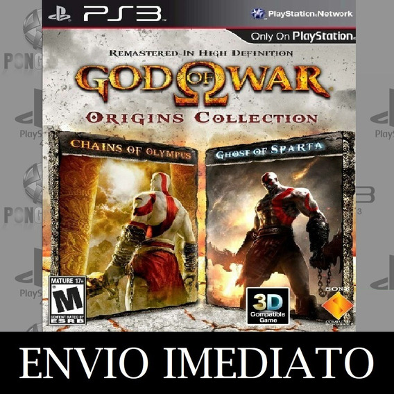 God Of War Origins Collection Ps3 Psn Mídia Digital - Psn