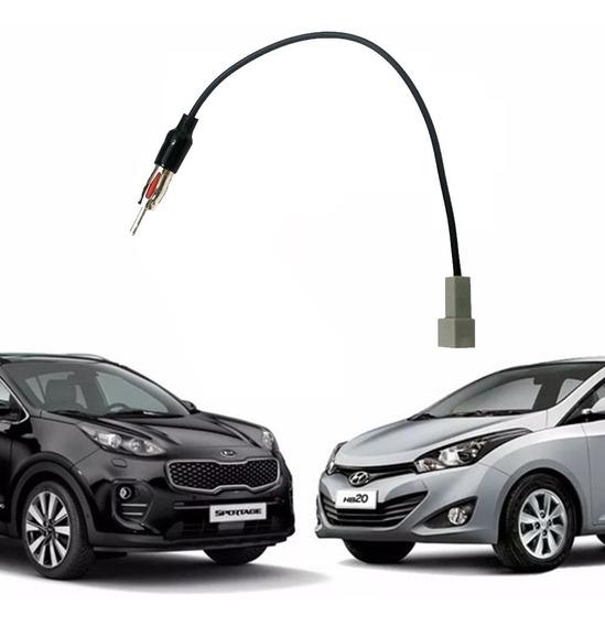 Chicote Conector De Antena Original Linhas Kia E Hyundai