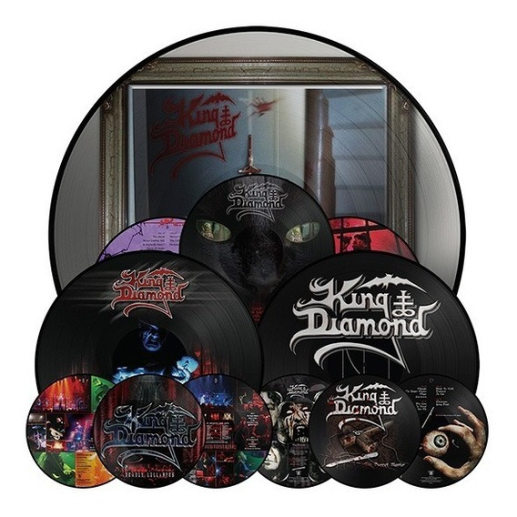 King Diamond The Puppet + Give Me + Deadly 2 Lp Picture