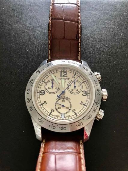 Relógio Tissot V8 - Manual E Caixa Original - Impecável