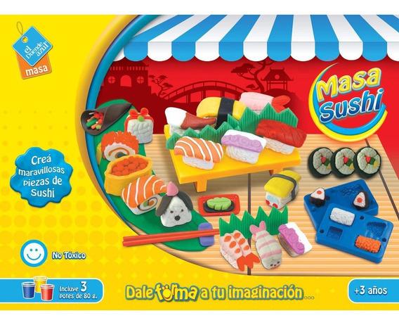 Juego De Masa Comida De Sushi El Duende Azul 6351