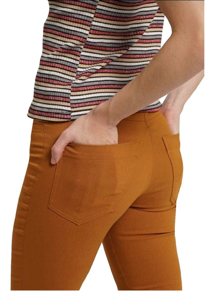 Pantalón Chupin Mujer Bengalina Elastizada