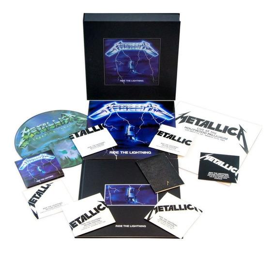 Metallica - Ride The Lightning Super Deluxe [cd+lp+dvd] Box