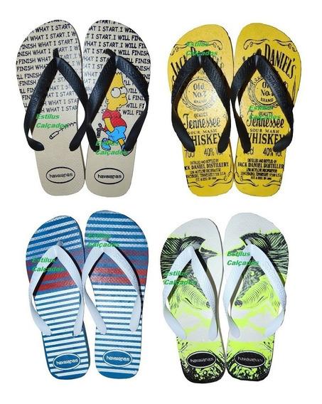 Kit Com 10 Pares De Chinelos Havaianas Top Chinelo Masculino Havaiana Revenda Barato Promoção Sandálias Sandalia Atacado