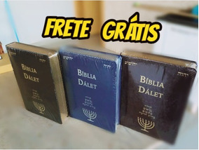 Bíblia Dálet Frete Grátis Para Todo Brasil - Registro Módico