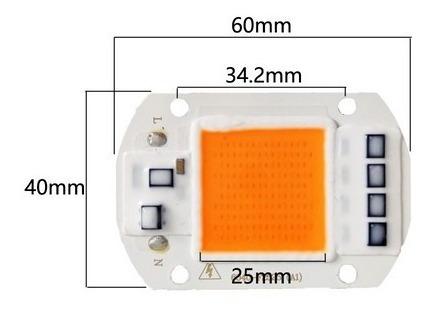Chip Led Smart 50w Full Spectron 220 V Grow Indoor