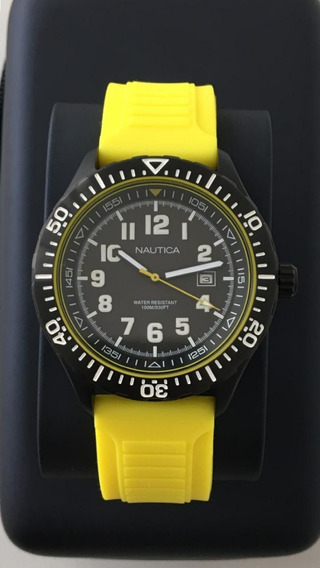 Relógio Nautica Novo Modelo Nad 13527 Sem Detalhes Nunca Us