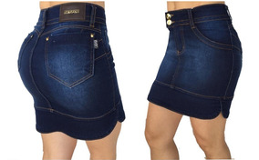 Saia Jeans Secretaria Set For Estilo Titanium 1690
