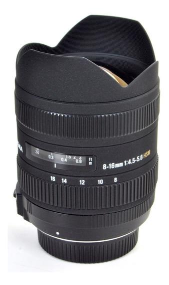Objetiva Para Nikon 8-16mm 4.5-5.6 Hsm 10836333