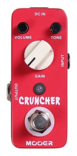 Pedal Mooer Cruncher Distorsion (ver Video) Tm