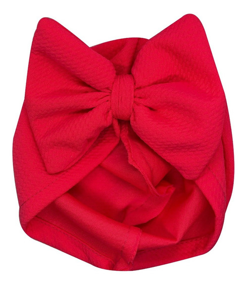 Gorro Turbante Para Bebé Con Moño, Headwrap