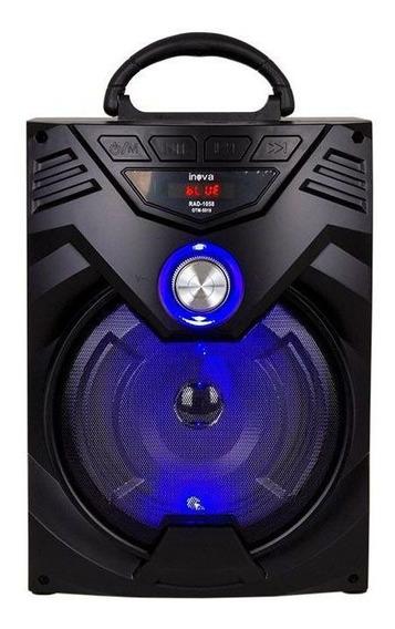 Caixa De Som Bluetooth Potente 15w Sd Usb Radio Fm