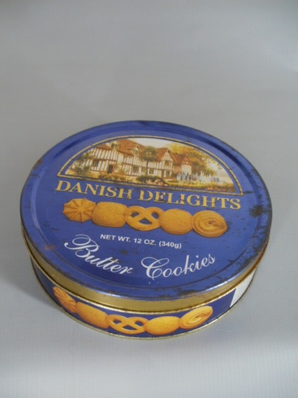 Lata Antigua Galletitas Danish Delights Zona Caballito