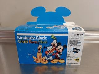 Barbijos Infantiles Kimberly Clark X 10 Unidades