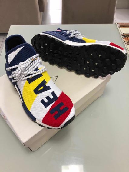 Tenis adidas Pharrell Williams Hu Novo Com Nf