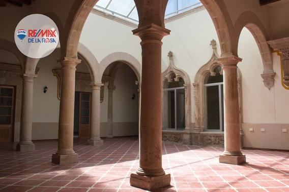 Casa Estilo Colonial En Renta, Ideal Para Oficinas En Centro Histórico