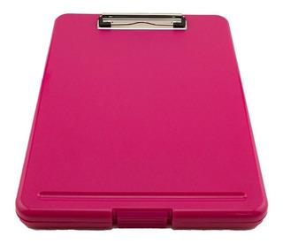 Tablero Folder Porta Cosas Rosado Rosa Doctora Medico Intern