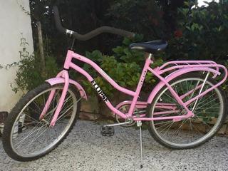Bicicleta Rodado 24 Rosa
