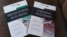 Kit 5 Livros Curso Completo De Aviação Para Piloto Privado