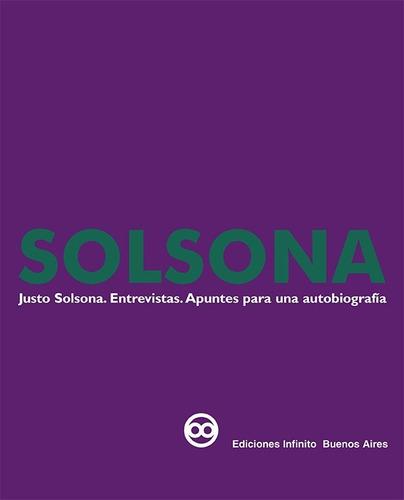 Imagen 1 de 1 de Solsona. Entrevistas. Apuntes Para Una Autobiografía