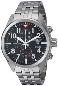 Citizen An3620-51e Chronograph Black Dial